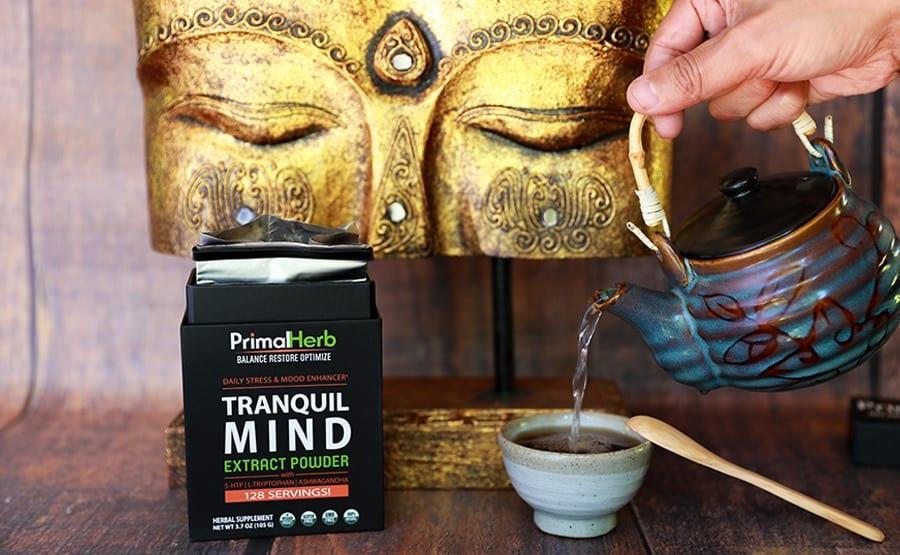 Passionflower Tea Through Tranquil Mind Formulation