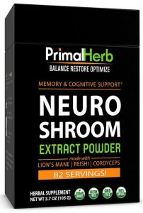 Neuro Shroom : Supports Cognitive & Mental Performance*