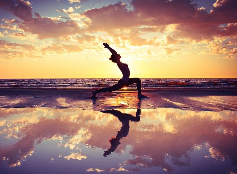Yang Energy Yoga Pose