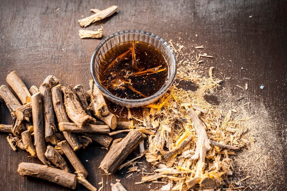 Image result for Licorice root for leaky gut syndrome